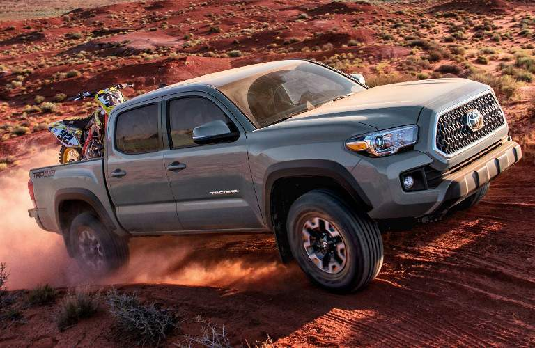 2018 Toyota Tacoma Exterior View in Grey
