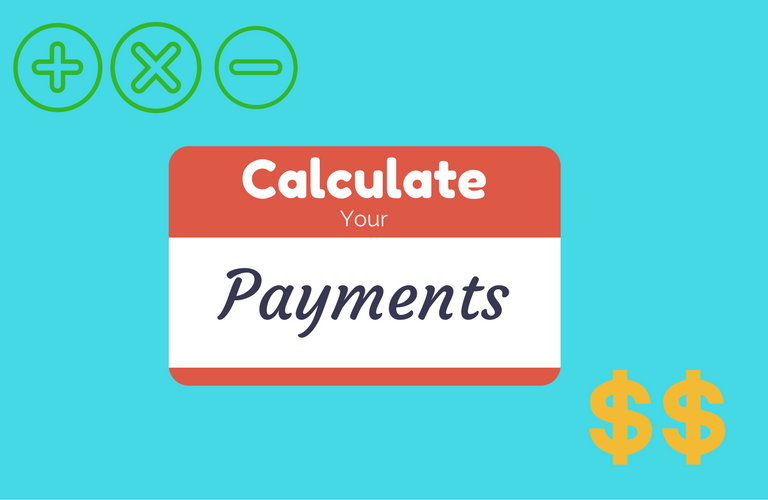 button calculate your payments