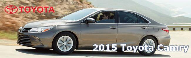 2015 Toyota Camry exterior Serra Toyota