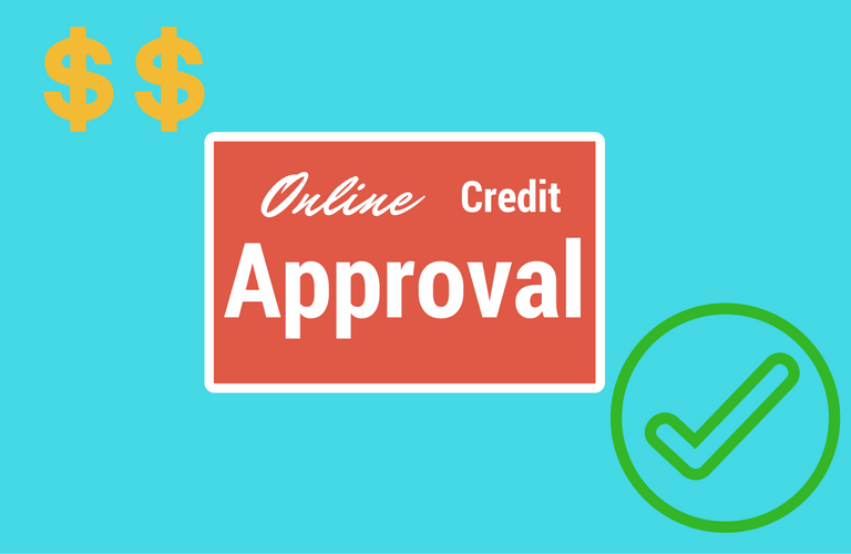 button online credit approval