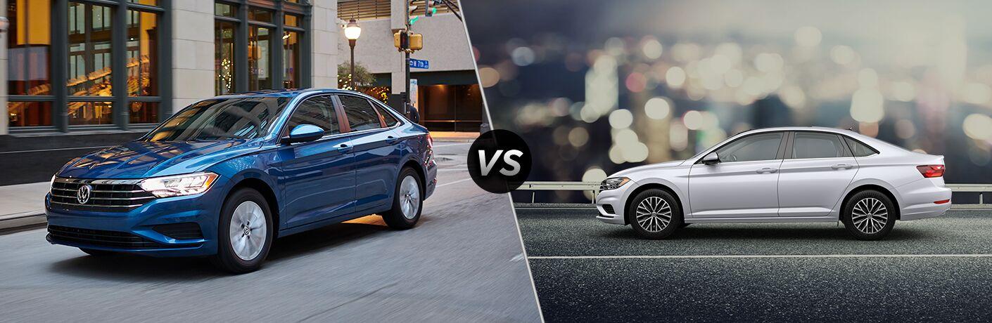 2019 Volkswagen Jetta S vs SE