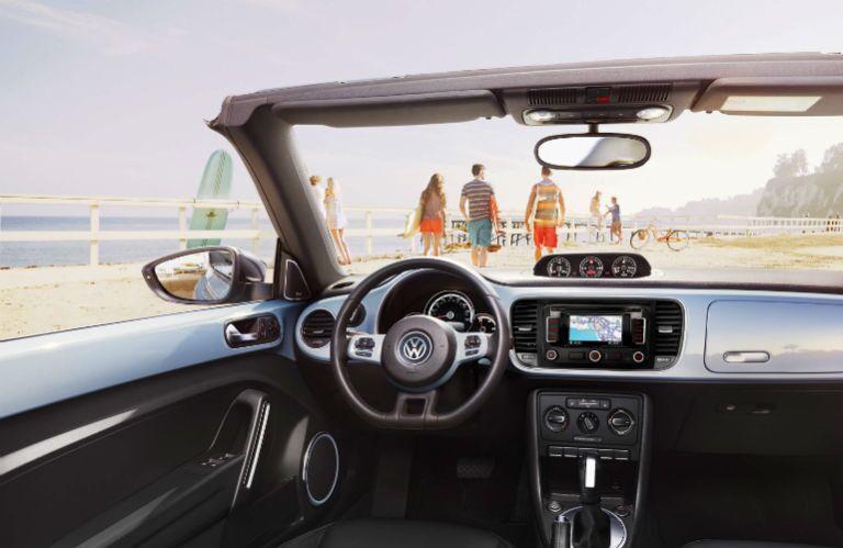 2015 Volkswagen Beetle Convertible Interior