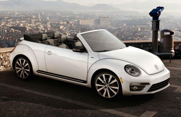 White 2015 Volkswagen Beetle Convertible