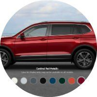 2018 Volkswagen Tiguan Colors