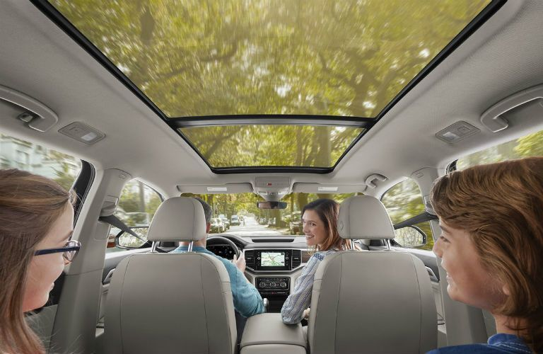 2020 Volkswagen Atlas Interior Cabin Moonroof