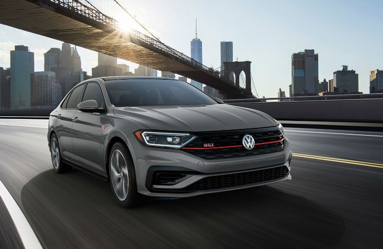 2020 Volkswagen Jetta GLI driving on a road