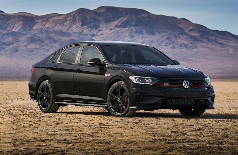2020 Volkswagen Jetta GLI front and side profile