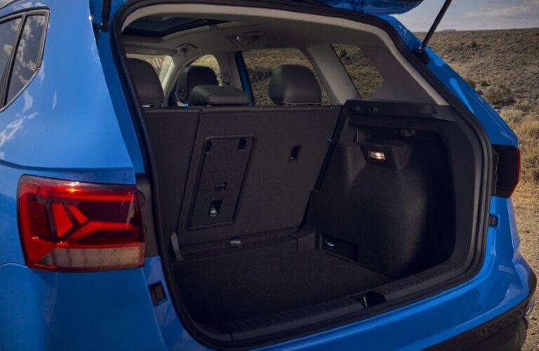 2022 Volkswagen Taos rear cargo area