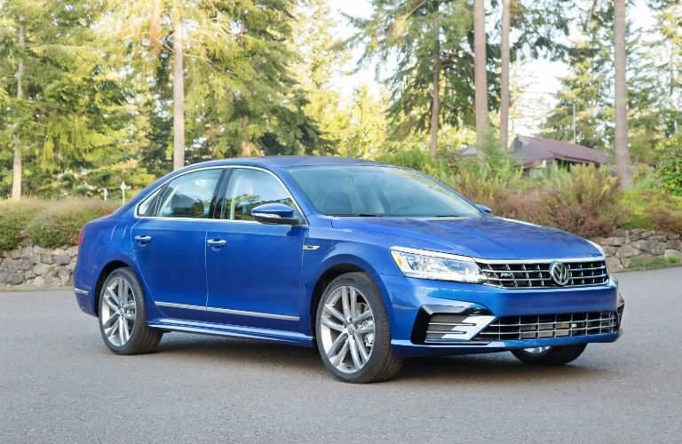 Blue 2018 Volkswagen Passat