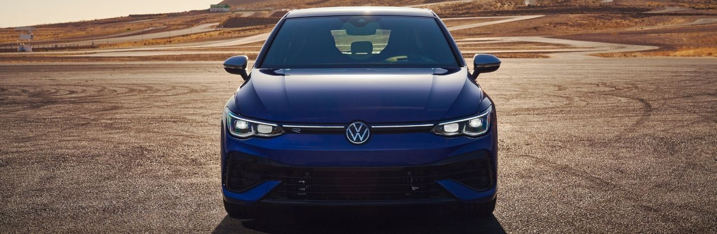 front view of the 2022 VW Golf R