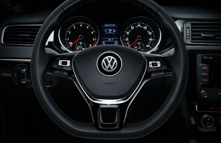 2015 Volkswagen Jetta Steering wheel