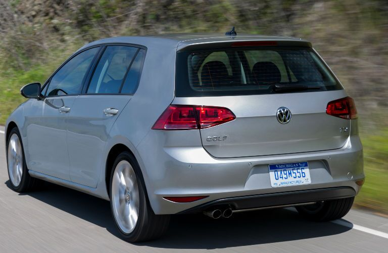 2015 Volkswagen Golf Rear