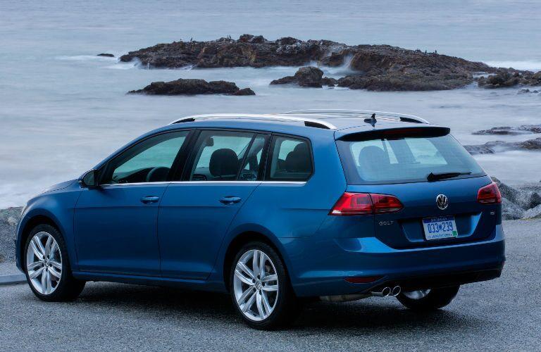 2015 Volkswagen Golf SportWagen Rear Tail lights