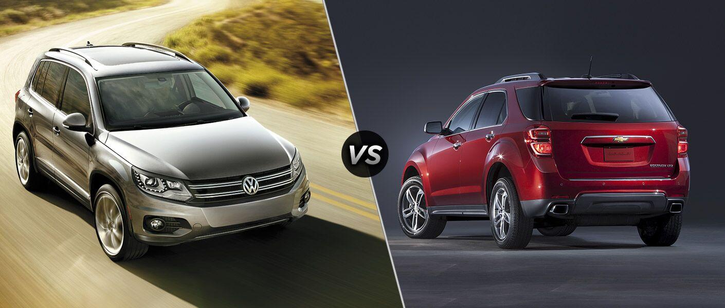 2016 Volkswagen Tiguan vs 2016 Chevy Equinox
