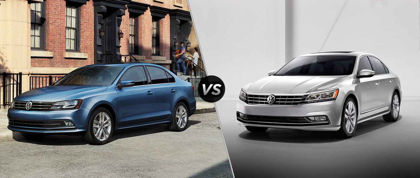 2016 Volkswagen Jetta vs 2016 Passat