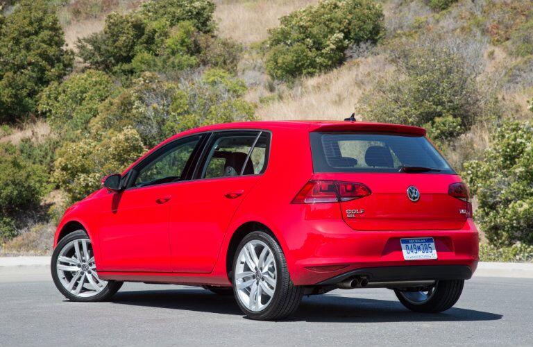 2016 Volkswagen Golf Taillights