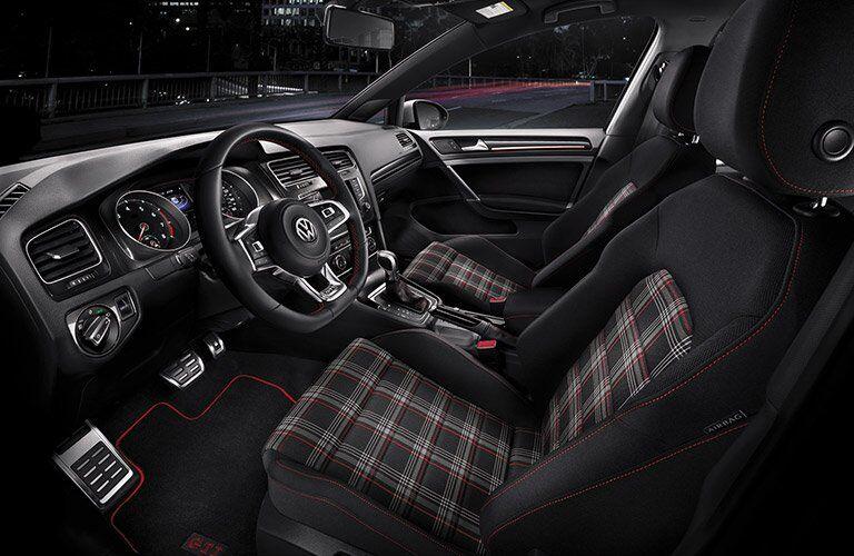 2017 Volkswagen Golf GTI Plaid Seating