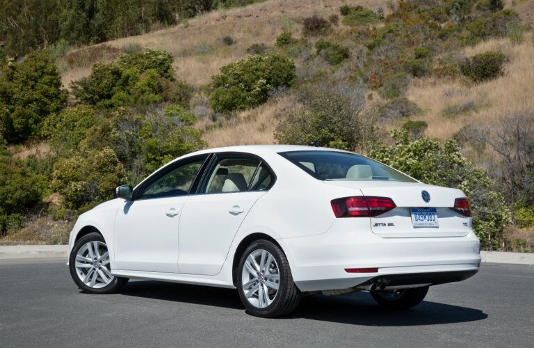 2016 Volkswagen Jetta Rear