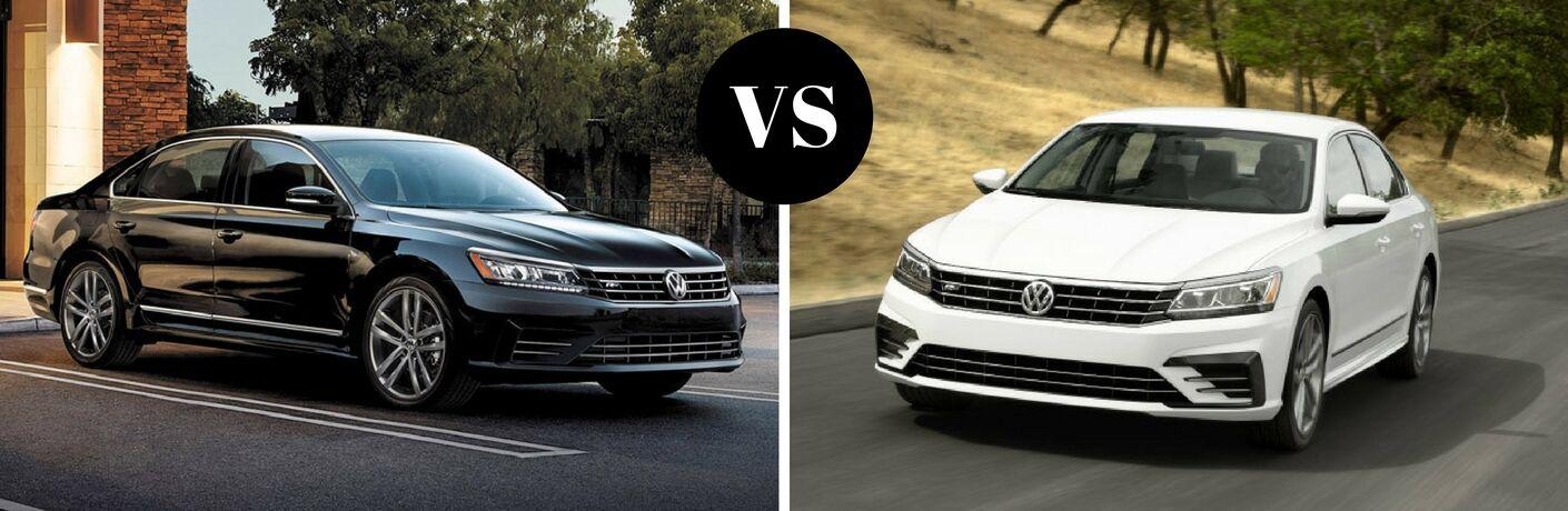 2017 Volkswagen Passat vs 2016 Volkswagen Passat