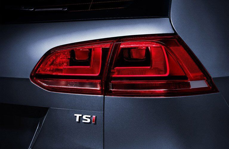 2017 Volkswagen Golf SportWagen Taillight Design