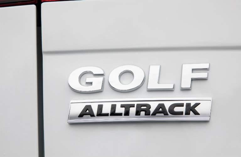 2018 Volkswagen Golf Alltrack logo tag