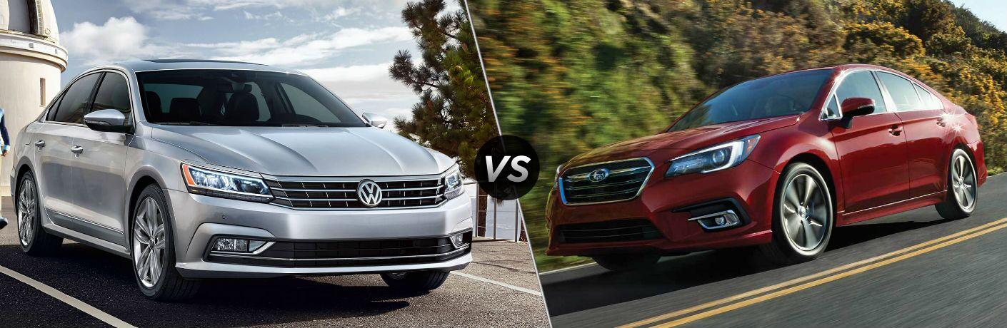 2018 Volkswagen Passat vs 2018 Subaru Legacy