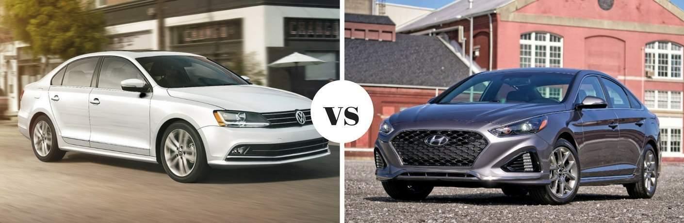 2018 Volkswagen Jetta vs 2018 Hyundai Sonata