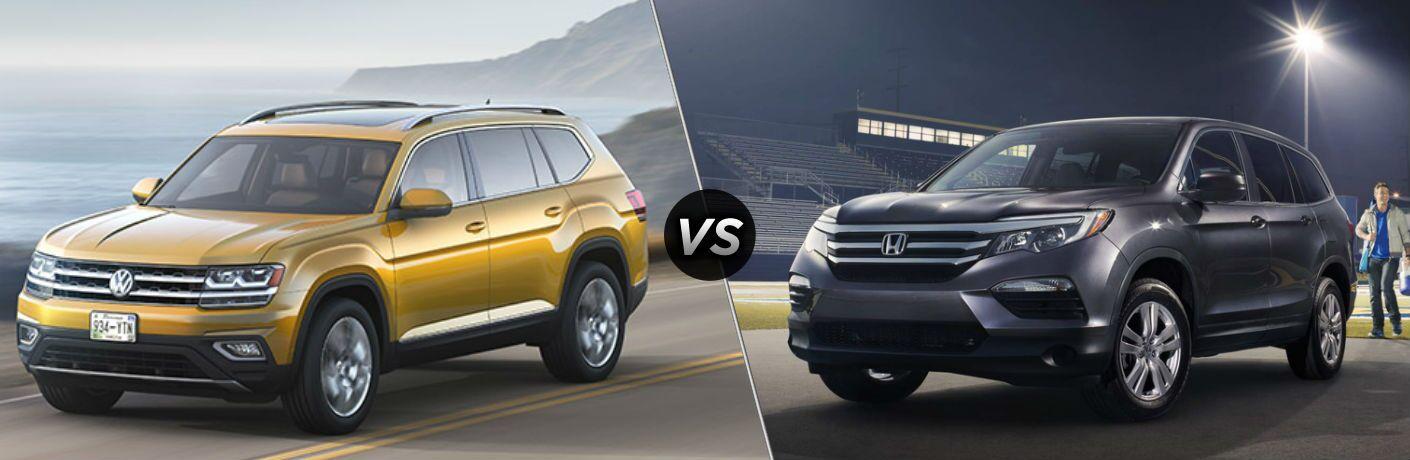 2018 Volkswagen Atlas vs 2018 Honda Pilot