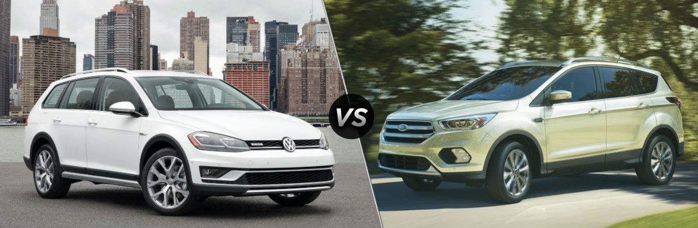 2018 Volkswagen Golf Alltrack vs 2018 Ford Escape
