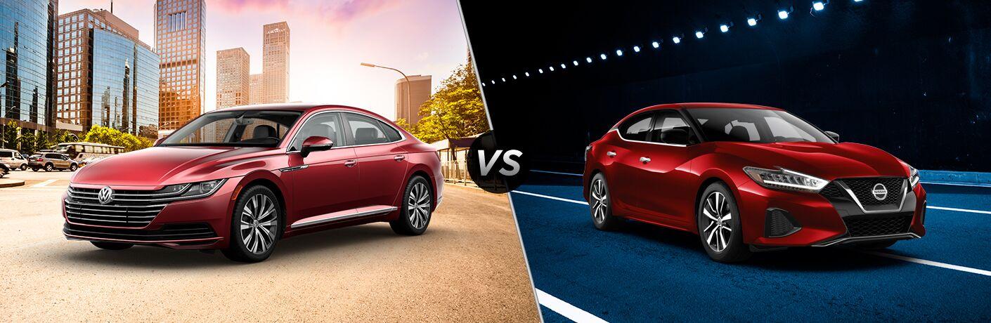 2019 Volkswagen Arteon vs 2019 Nissan Maxima