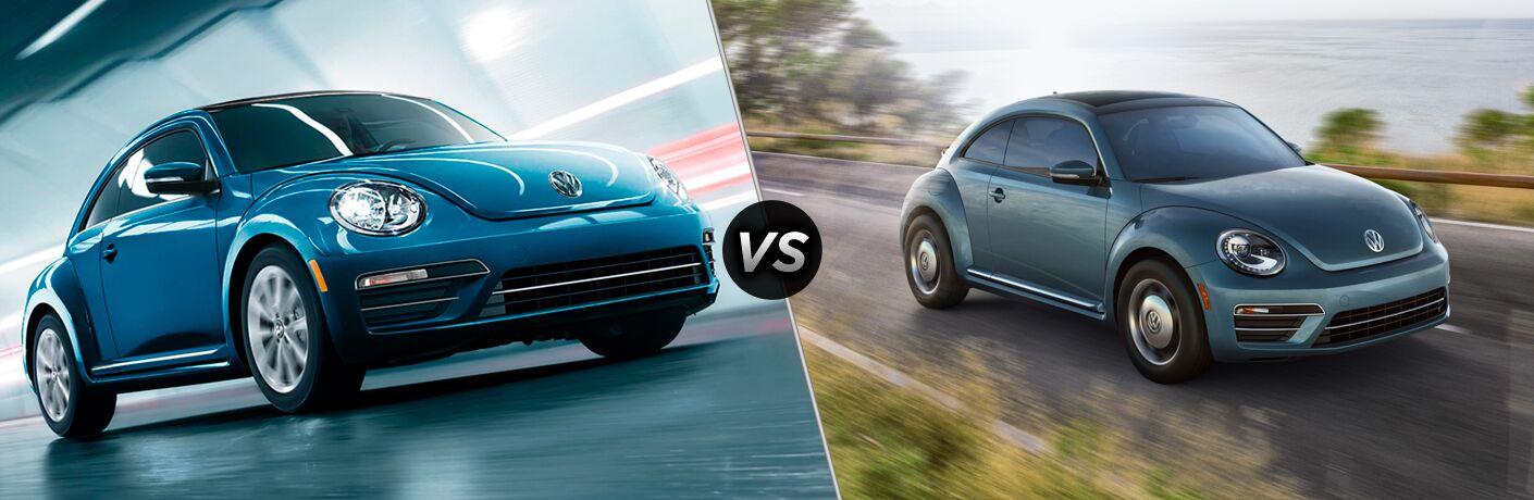 2019 Volkswagen Beetle vs 2018 Volkswagen Beetle
