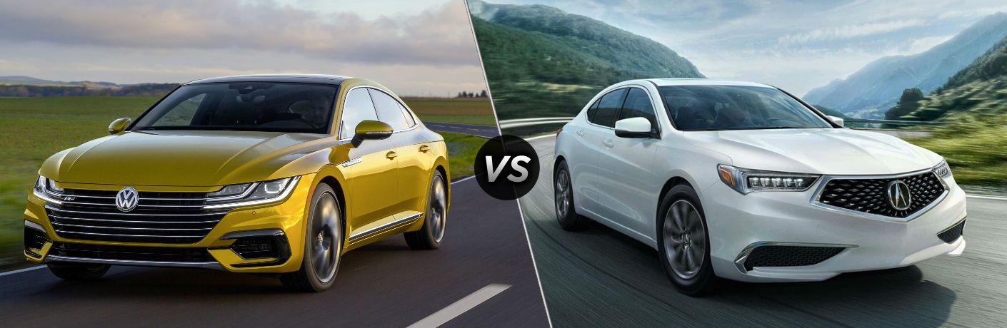 2019 Volkswagen Arteon vs 2019 Acura TLX