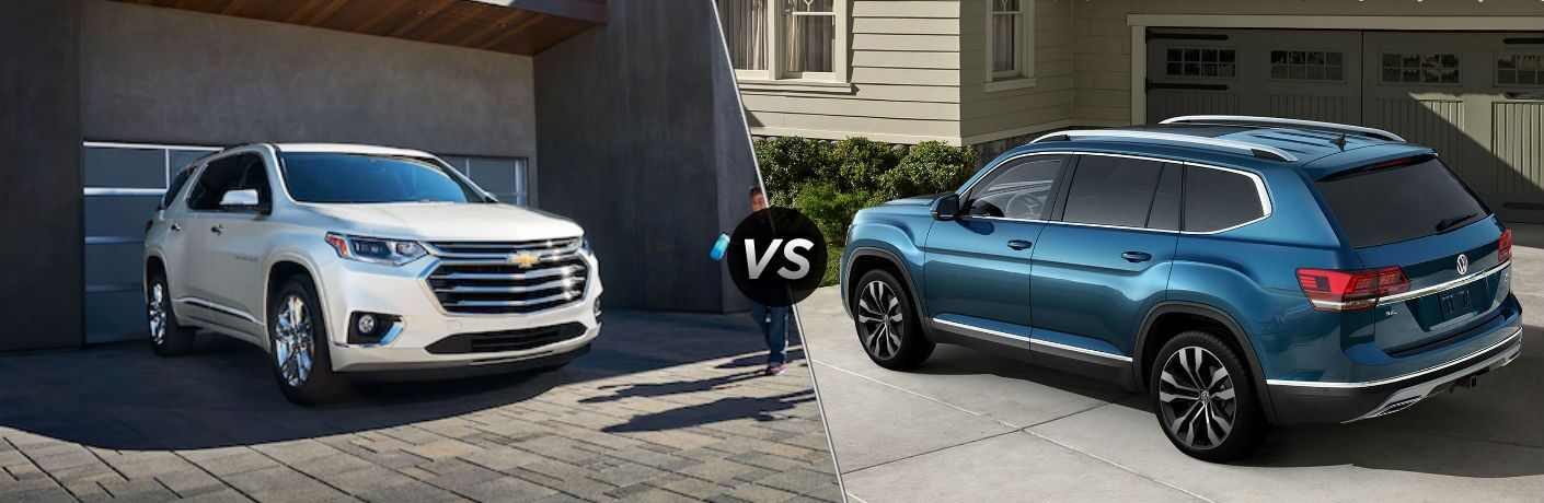 2019 Volkswagen Atlas vs 2019 Chevrolet Traverse