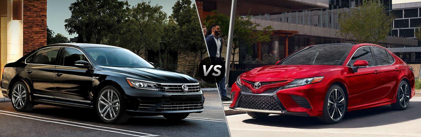 2019 Volkswagen Passat vs 2019 Toyota Camry