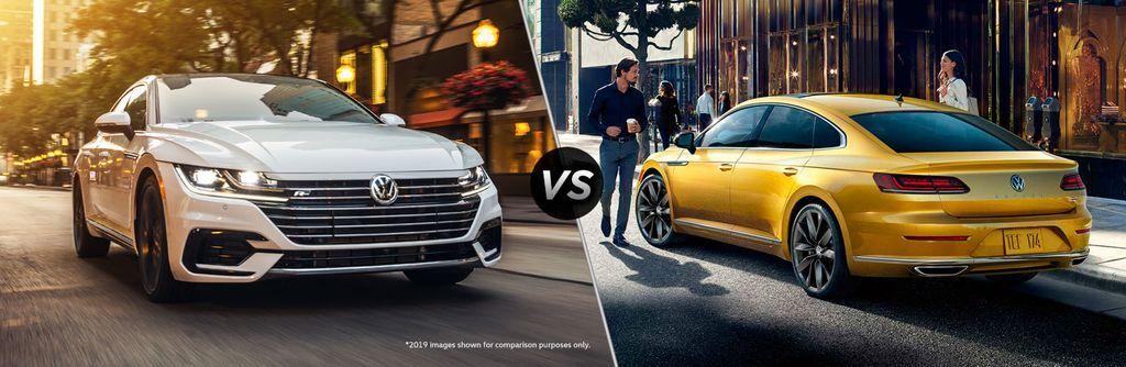 2020 Volkswagen Arteon vs 2019 Volkswagen Arteon