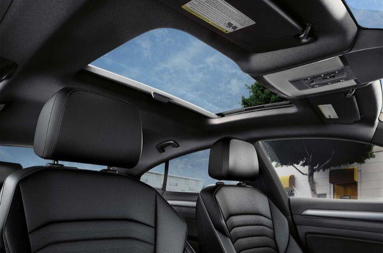 2020 Volkswagen Arteon interior sunroof view