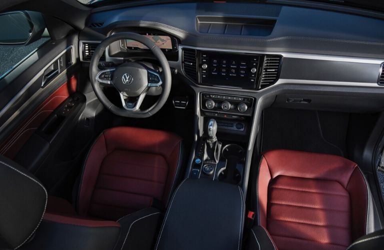 2020 Volkswagen Atlas Cross Sport interior view