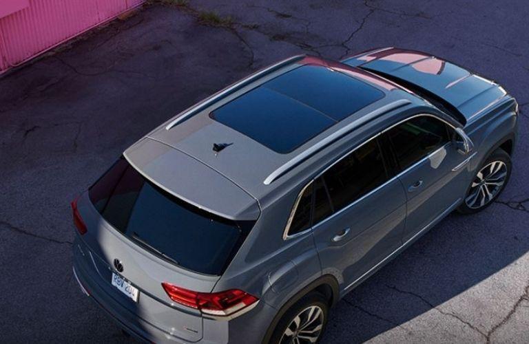 2021 Volkswagen Atlas Cross Sport top view