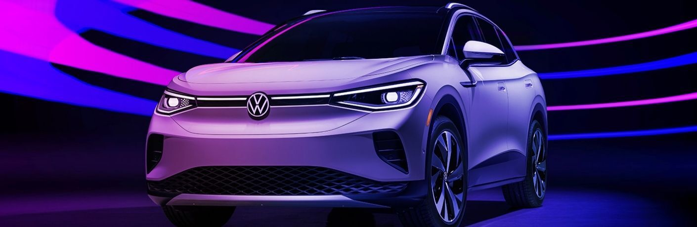 2021 Volkswagen ID.4 parked front view