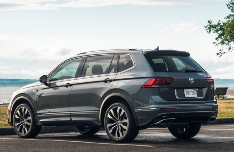 2021 Volkswagen Tiguan parked rear view