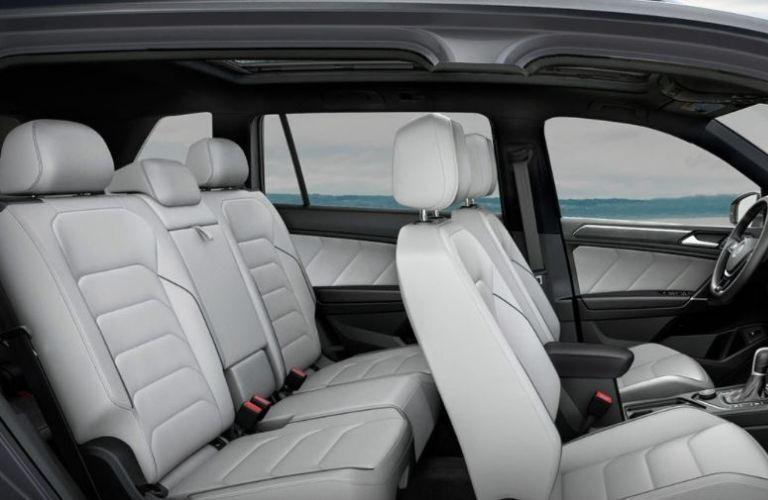2021 Volkswagen Tiguan seats view