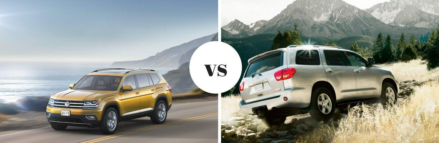2018 Volkswagen Atlas vs 2018 Toyota Sequoia