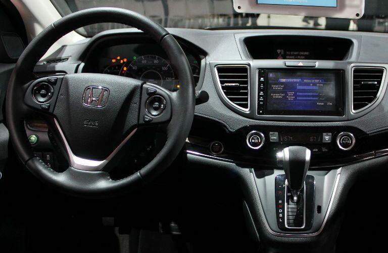 honda civic interior technology touchscreen controls