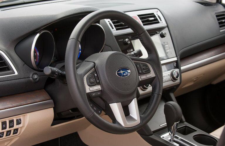 2015 Subaru Outback interior controls technoloyg