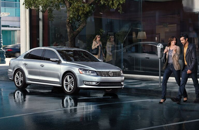 2015 Volkswagen Passat in The Woodlands TX exterior features Volkswagen of The Woodlands