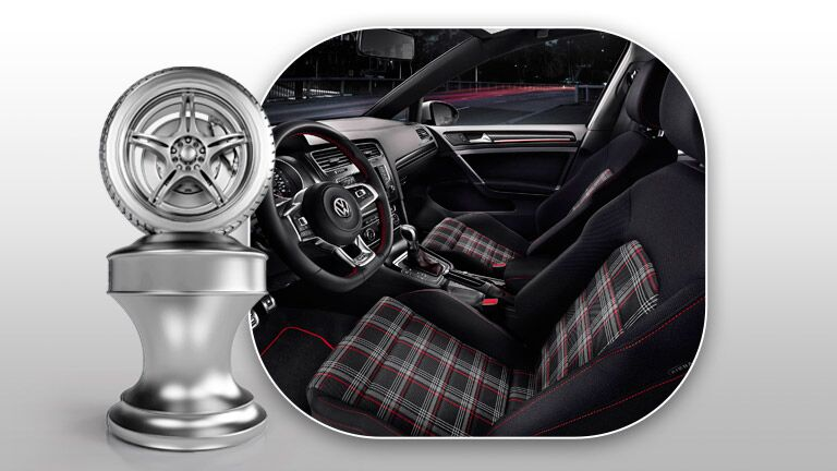 2015 Volkswagen Golf vs 2015 Volkswagen Golf GTI interior features Volkswagen of The Woodlands TX