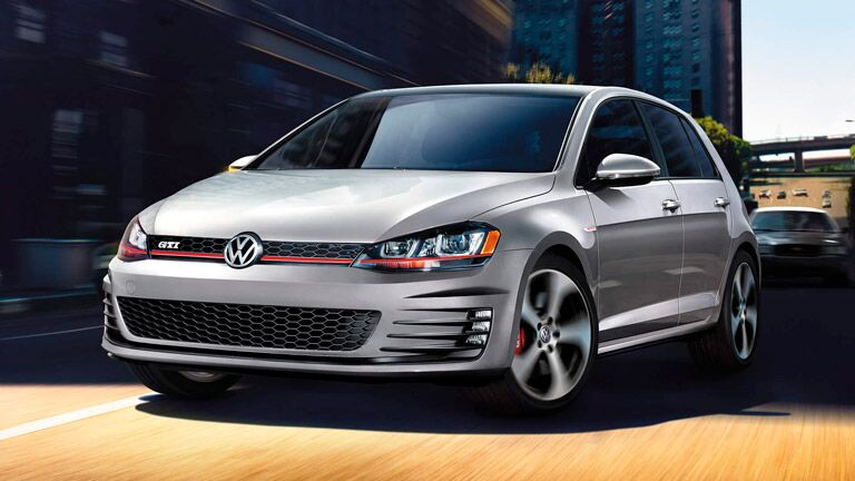 2015 Volkswagen Golf vs 2015 Volkswagen Golf GTI exterior features Volkswagen of The Woodlands TX