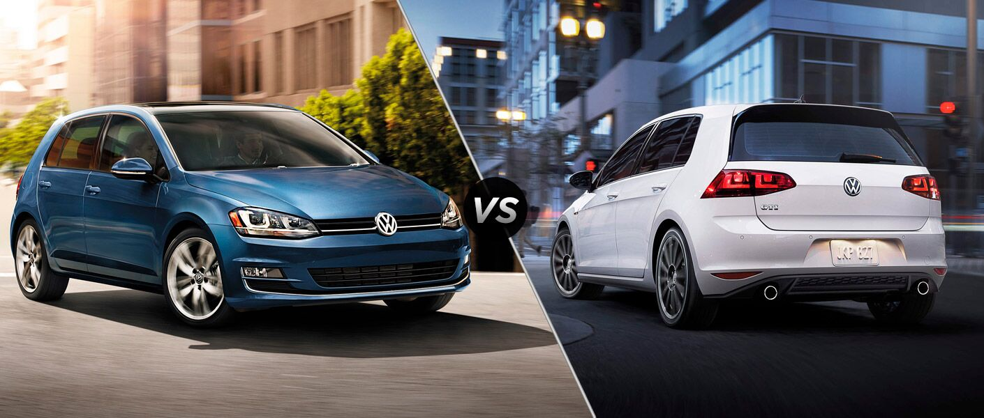 2015 Volkswagen Golf vs 2015 Volkswagen Golf GTI Volkswagen of The Woodlands TX