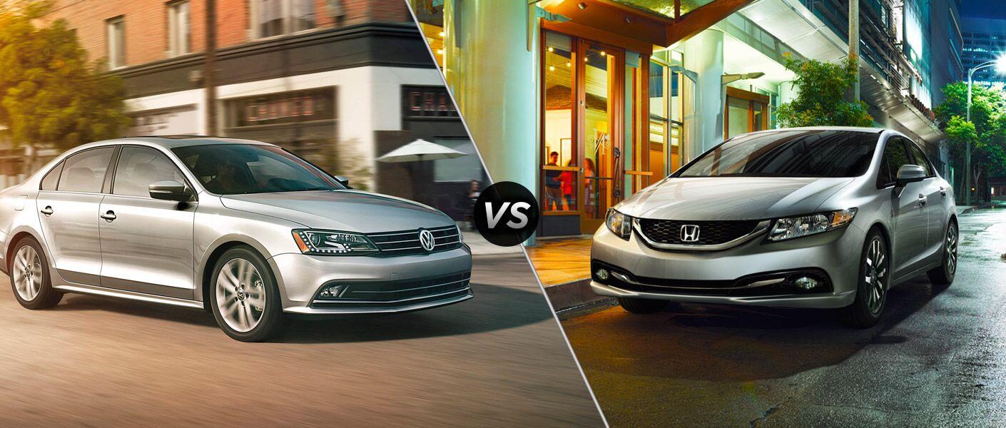 2015 Volkswagen Jetta vs 2015 Honda Civic