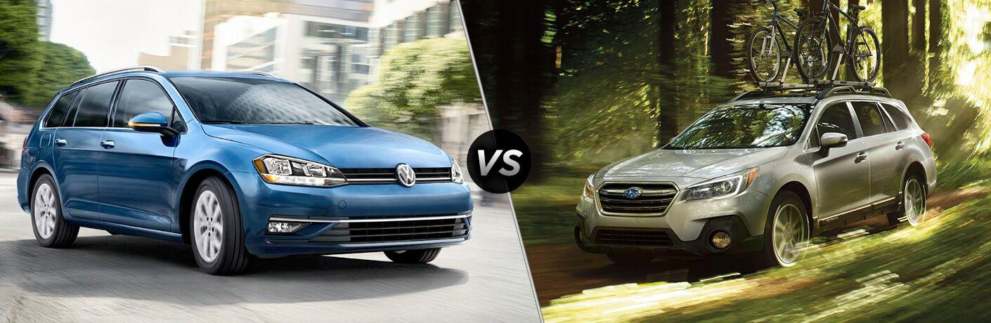 2018 Volkswagen Golf SportWagen vs 2018 Subaru Outback